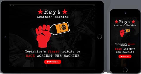 Portfolio Item Reyt Against Machine